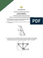 TALLER N° 10 ANALISIS DE ESTRUCTURAS ARMADURAS METODO DE NUDOS