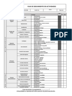 Re-20 Plan de Seguimiento de Actividades de Auditorias