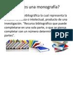 Partes de Una Monografía-Descripcion Bibliografica(2)