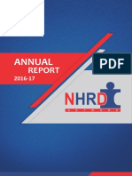 Nhrdn Annual Report 2016-2017