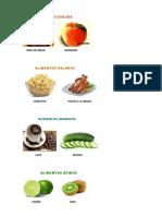 Alimentos Dulces