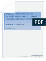 Indicadores de cultura para el flamenco