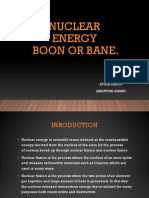 Nuclear Energy is a Boon or Bane 2