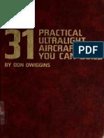 31 Practical Ultralight Aircraft You Can Build