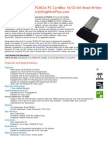 ExpressCard 34 to PCMCIA PC CardBus 16/32-bit Read-Writer Express2PCC