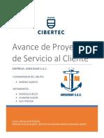 Avance de Proyecto Servicio Al Cliente