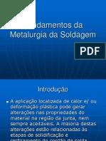 Fundamentos da Metalurgia da Soldagem