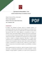 Programa Lengua Española II 2019 - UNLA