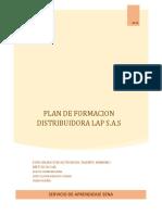 Plan de Formacion Para Entregar
