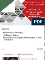 Ic&i - Semana 13 - Prospectiva Del Desarrollo Prof.