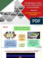 Ic&i - Semana 11 - La Practica Profesional y La Sociedad