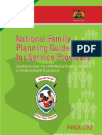 FP Guidelines 2010 MOH