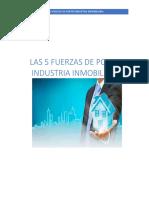 Las 5 Fuerzas de Porter Industria Inmobiliaria