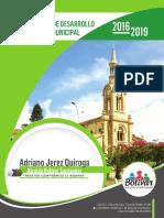 plan de desarrollo municipal municipio de bolivar