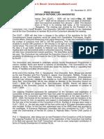 NLU Consortium Press Release Nov 21 2019 CLAT 2020