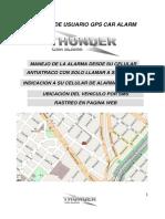 Manual Alarma GPS GSM