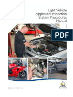 Approved inspection manual