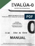 Manual 2.0 Chile Evalua- 0