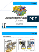Sistema de Lubricación - Funcionamiento y Especificaciones