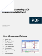 medições com adcp