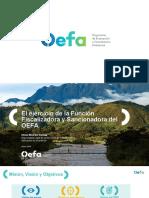 Procedimiento Administrativo Sancionador Del OEFA