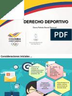 1. Derecho y Deporte 11 Sep Diana Brunal