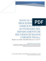 Manual Recursos Humanos Version Final EMPRESA FICTICIA