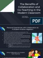 teacher collaboration ppt