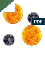 Distancia de La Tierra Al Sol xd xd