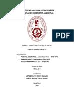 Fisica 3, 1er Laboratorio FI-403E