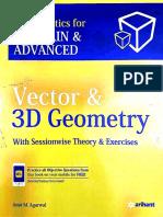 Amit M. Agarwal - Vector & 3D Geometry - 1ª Ed.