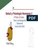 GTP_T2. Salud y Fisiologia Humanas I (4Riñón). Curso 13-15