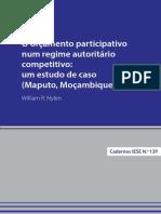 O Orçamento Participativo num regime autoritário competitivo.pdf