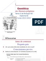 GTP_T6. Genética (3ª Parte_Herencia Poligénica) 2013-15