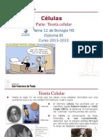 GTP_T 12.Células (1ªParte_Teoría Celular) 2013-15