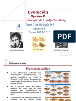 GTP_T7. Evolución (Parte 2. Principio Hardy-Weinberg) 2013-15