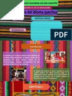 Quechua Exposicion