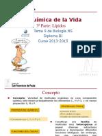GTP_T9. La Química de La Vida (3ª Parte_Lípidos) 2013-15