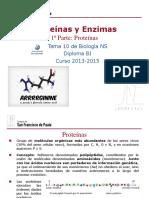 GTP_T10. Proteínas y Enzimas(1ª Parte_Proteínas) 2013-15