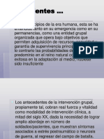 Introducción a La Psicoterapia Grupal