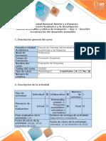 Guía de Actividades y Rúbrica de Evaluación Fase 4 - Describir La Interacción Del Desarrollo Sostenible (1)