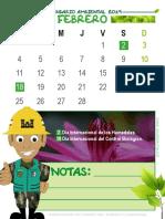 Calendario Tipo Nota p