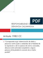 10. RESPONSABILIDAD CIVIL POR DENUNCIA CALUMNIOSA.ppt