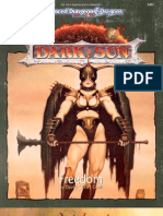 ADD TSR Dark Sun (DS1) Freedom