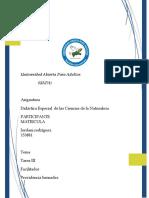 Reporte III Jordani de Ciencias Naturales
