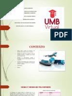 Consulta y Sustentación Sobre Transporte Terrestre y Marítimo