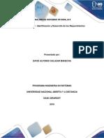 Tecnica de Levantamiento de Informacion - Analisis Sistemas