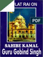Daulat Rai on Sahibe Kamal Guru Gobind Singh