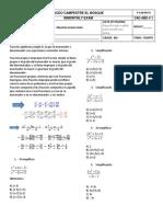 Algebra 8 Final