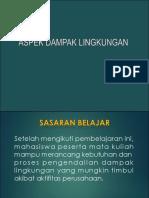 Aspek Dampak Lingkungan_LTY 2019